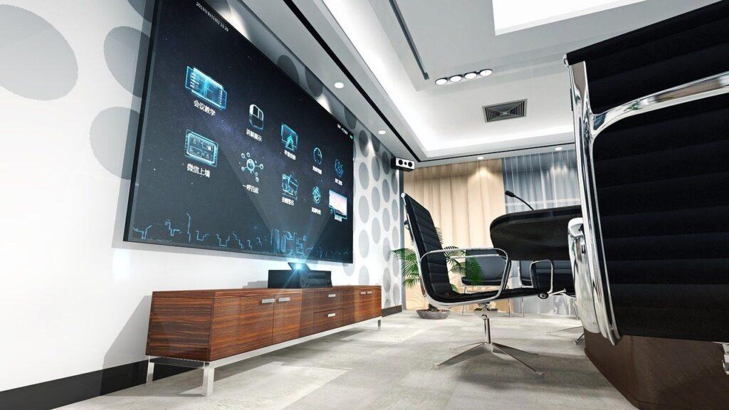 set-top boxes, conference, interior design